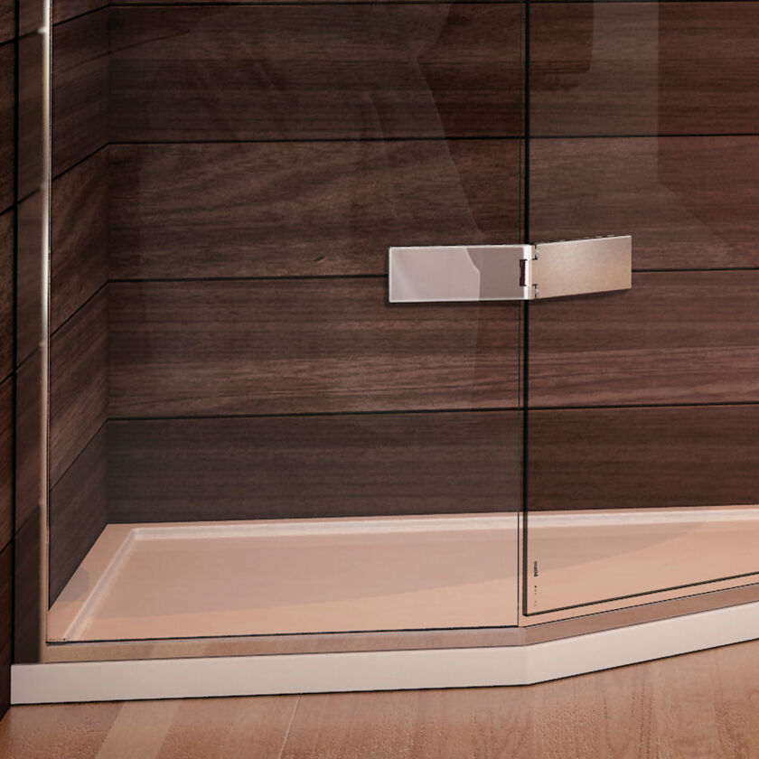 Continental 40 Curved Shower Tray Matki