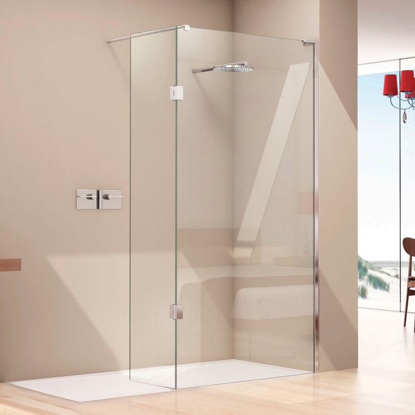 Eauzone Plus 10mm Wet Room Panel With Tray Matki