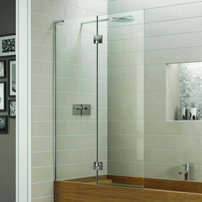 Eauzone Plus Double Panel Bath Screen Matki