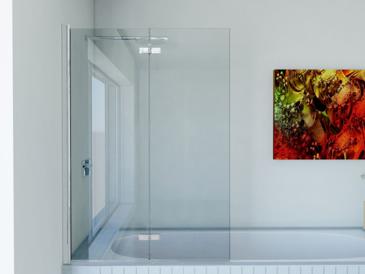 Awesome Over Bath Sliding Shower Screens Pictures