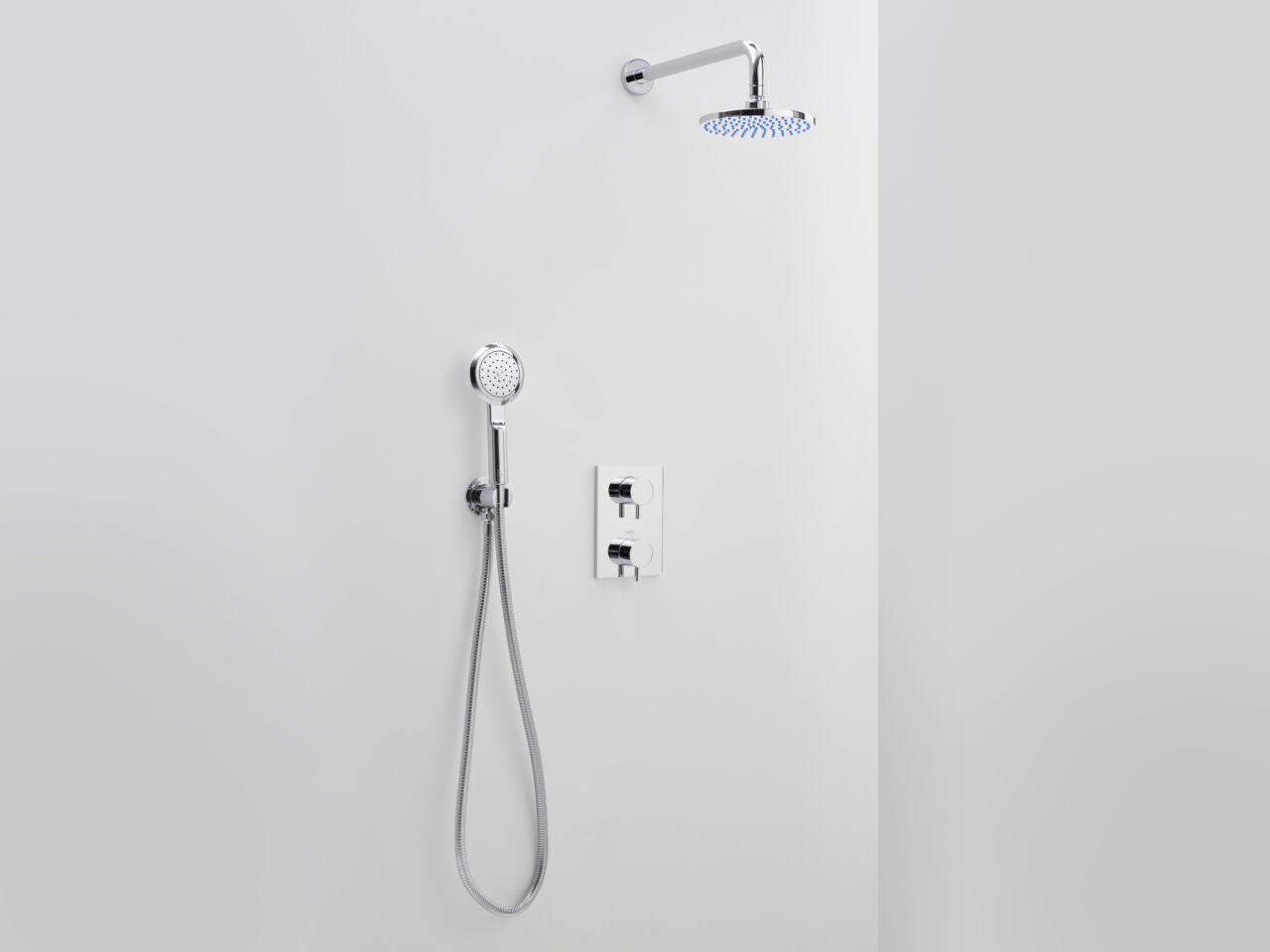 Elixir Classic Mixer with Deluge Shower Head and Hand Shower - Matki