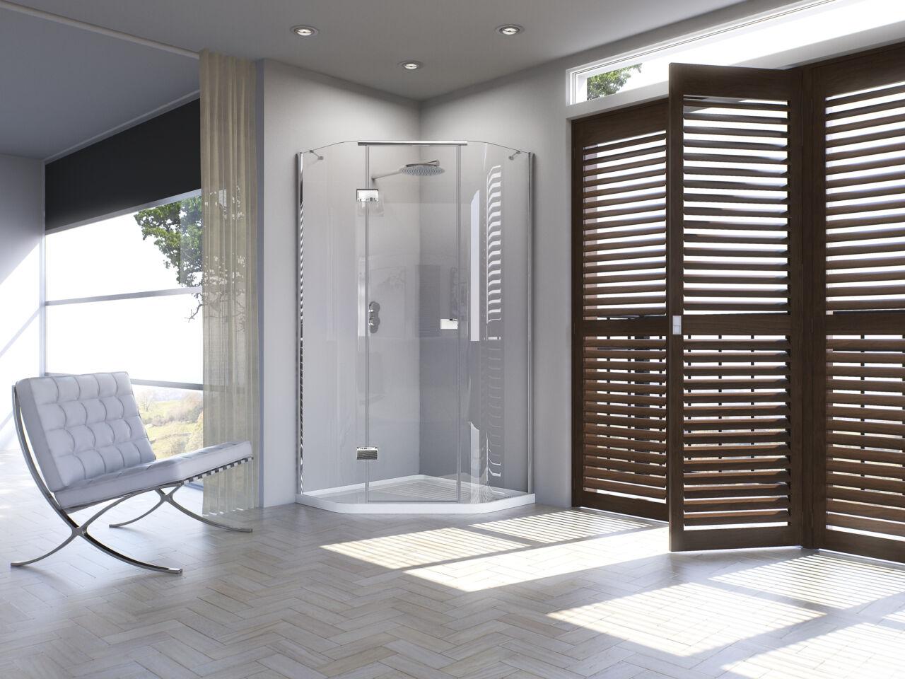 Illusion Quintesse With Integrated Shower Tray Matki