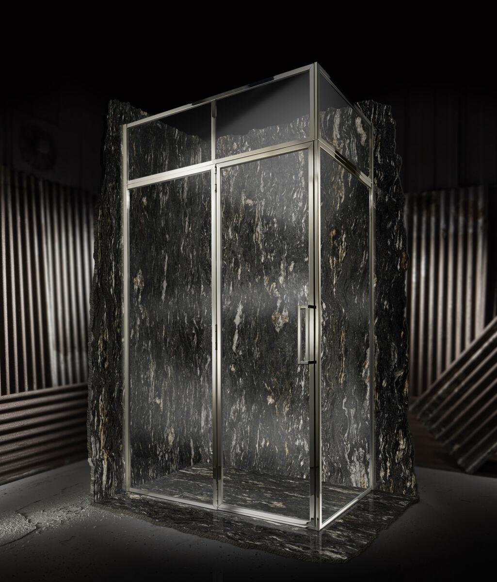 Classica Door With Hinge Panel For Corner Matki