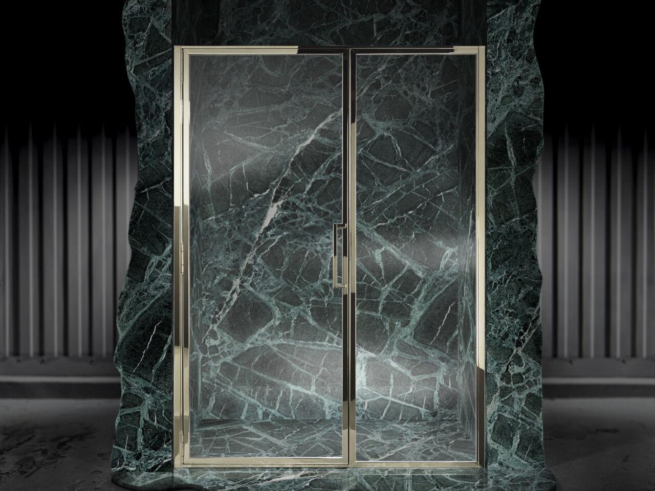 Classica Door With Inline Panel For Recess Matki