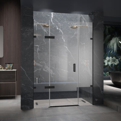 Eauzone Plus Hinged Door With Hinge Panel And Inline Panel